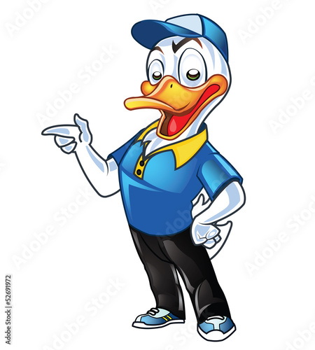Cute Employer Duck