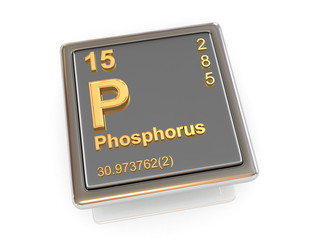 Phosphorus. Chemical element.