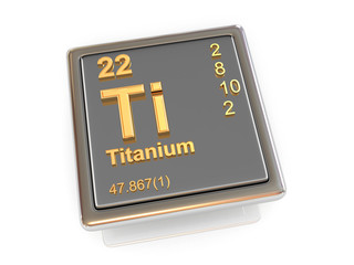 Titanium. Chemical element.