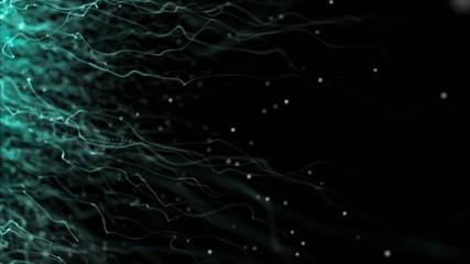 Particulas y luz de fondo