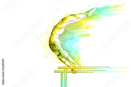 Parallel Bar Gymnast