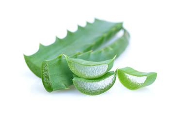 Leaf of aloe