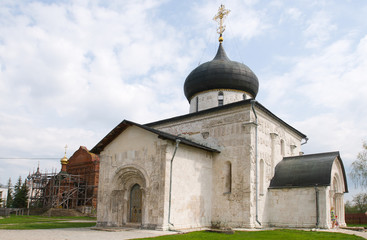 St. George's Cathedral in Yuriev-Polsky. Russia