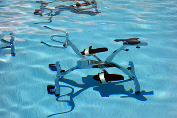 Vélo d'aquabiking