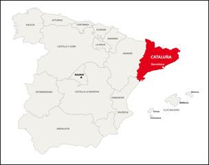 Autonome Region Katalonien, Spanien