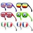 Flags Fashion Sunglasses-Occhiali da Sole Moda Bandiere