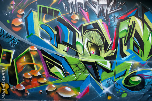 Graffiti coloré