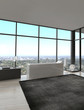 Exclusive Luxury Bathroom Interior in a modern Penthouse