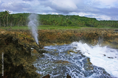 Devil's Mouth, Samana peninsula, Dominican Republic