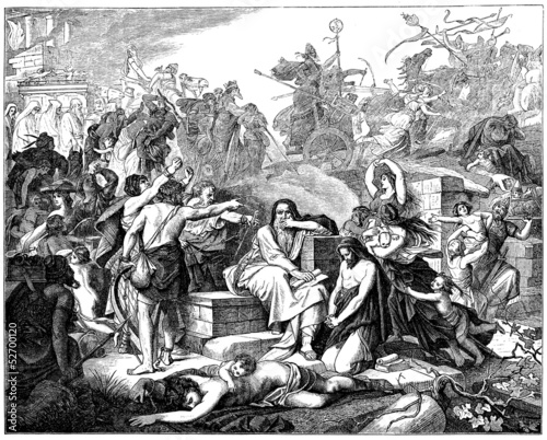 Jews : Exile to Babylon - Biblical Scene