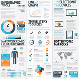 Big set of infographic elements vector EPS10