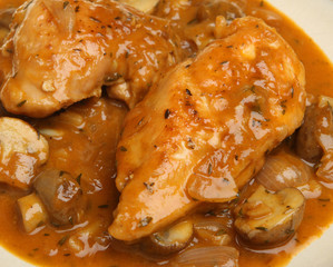 Chicken Chasseur Casserole
