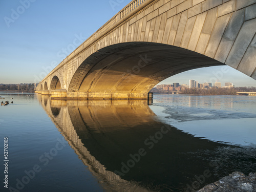 Arlington Bridge and Potomac River