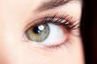 Woman eye.