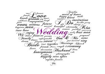 Tagcloud Wedding