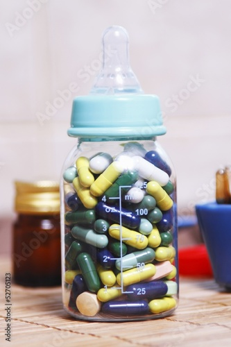 Abuse of prescription pills for various diseases