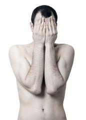 Peekaboo Topless Man