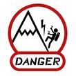 Danger climbing