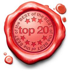 top 20 charts