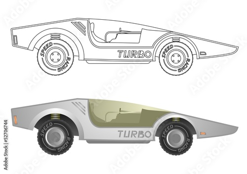 Turbo car