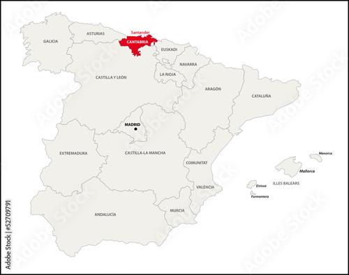 Autonome Regionen Spanien Karte.Gamesageddon Autonome Region Kantabrien Spanien