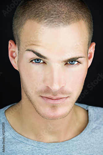 canvas print picture Portrait of a bautiful young man