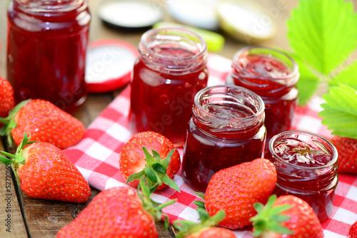 Erdbeermarmelade