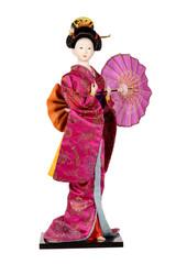статуэтка изображающая японку