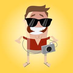 tourist urlaub kamera