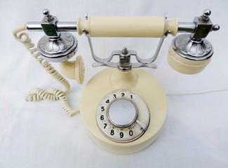 Ретро, винтаж, телефон, старый, связь,
