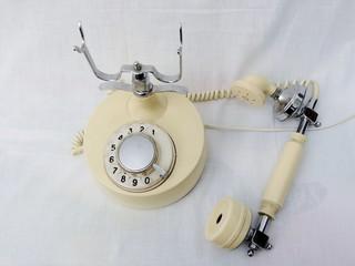 Ретро, винтаж, телефон, старый, аппарат, связь