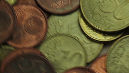 Eurocentcoins rotating