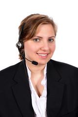 Customer service representative taking your calls