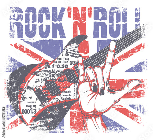 Rock'n roll © Tshirt-Factory.com