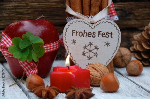 Weihnachtsgrüße Frohes Fest