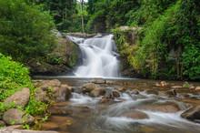 Pu soi dół Wodospad z Tajlandii