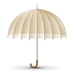Retro sun umbrella