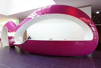 Eingangsbereich Moderner Tresen Empfangsbereich