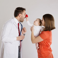 Pediatrician doctor