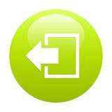 button output disconnect Internet icon poster