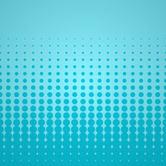Blue Halftone Backdrop