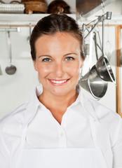 Beautiful Chef Smiling