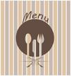 icona per la ristorazione con posate