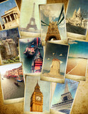 vintage travel background