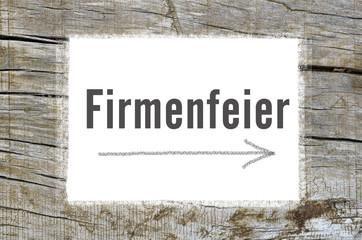 Firmenfeier