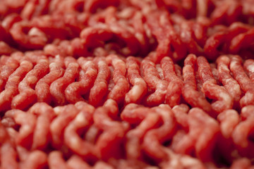 Minced Meat Close-Up