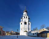 Church bell tower of the Assumption of the Mother of God, Russia