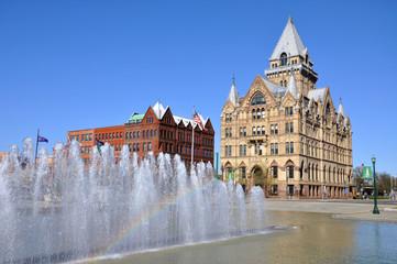 Syracuse Saving Bank,Clinton Square,Syracuse,New York State