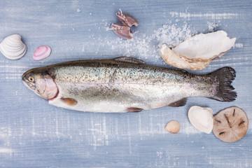 Fresh trout.