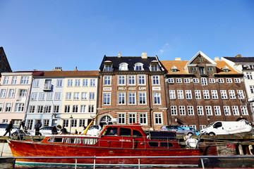 Nyhavn, a central canal and port in Copenhagen.